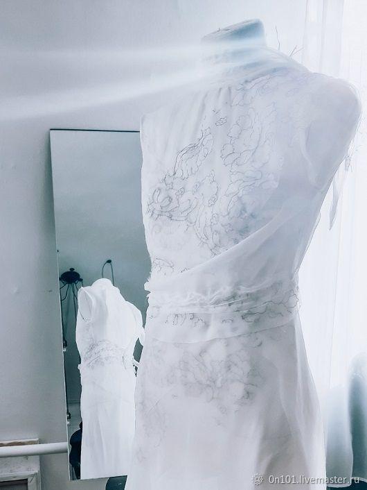 """Платье из шелкового шифона """" Воздух"""", Платья, Санкт-Петербург,  Фото №1"""