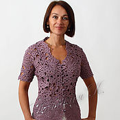 Одежда ручной работы. Ярмарка Мастеров - ручная работа Жакет Королевская лилия. Handmade.