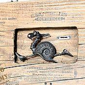 """Картины и панно ручной работы. Ярмарка Мастеров - ручная работа Панно """"Наперегонки со временем"""". Handmade."""