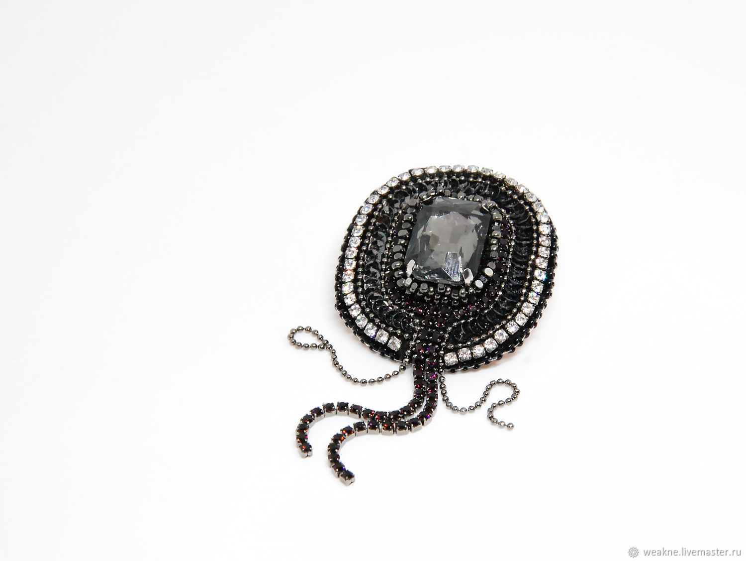 """Brooch №222, """"Eclipse"""" collection, Brooches, Moscow,  Фото №1"""