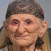 Портретная кукла ручной работы. Ярмарка Мастеров - ручная работа Та, которая была прекрасной Джокондой. Handmade.
