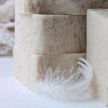 Косметика ручной работы. Ярмарка Мастеров - ручная работа Шелковый нероли.Натуральное мыло с нуля(с кремом). Handmade.