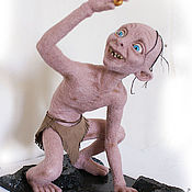 """Куклы и игрушки ручной работы. Ярмарка Мастеров - ручная работа Голлум, """"Моя прелесть"""". Handmade."""