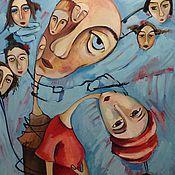 """Картины и панно ручной работы. Ярмарка Мастеров - ручная работа Картина """" Не ломай меня"""". Handmade."""