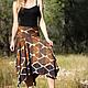 """Юбки ручной работы. Ярмарка Мастеров - ручная работа. Купить Летняя юбка из трикотажа """"Африка"""". Handmade. Юбка, одежда для беременных"""