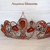 Украшения handmade. Livemaster - original item tiaras: Crowns for example. Handmade.