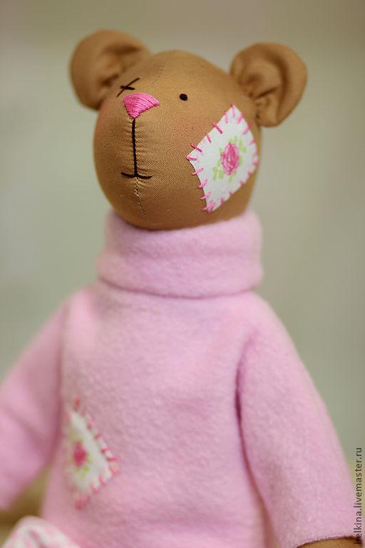 Куклы Тильды ручной работы. Ярмарка Мастеров - ручная работа. Купить Тильда Медведь. Handmade. Медведь, коричневый