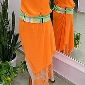 """Одежда ручной работы. Ярмарка Мастеров - ручная работа Платье """"Зеленый чай 3"""". Handmade."""