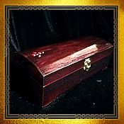 Субкультуры handmade. Livemaster - original item Gothic jewelry box Coffin . Coffin casket for doll. Handmade.
