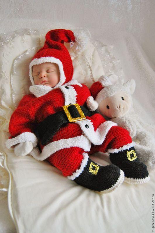 """Одежда ручной работы. Ярмарка Мастеров - ручная работа. Купить Костюм """"Малыш Санта"""". Handmade. Новый Год"""