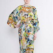 """Одежда ручной работы. Ярмарка Мастеров - ручная работа Платье """"Весна"""" из атласа. Handmade."""