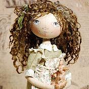 Куклы и игрушки ручной работы. Ярмарка Мастеров - ручная работа Тыквоголовая кулка Livia. Handmade.