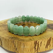 Украшения handmade. Livemaster - original item Bracelet made of natural green aventurine Forest_. Handmade.