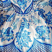Работы для детей, ручной работы. Ярмарка Мастеров - ручная работа Гжель Синяя птица. Handmade.