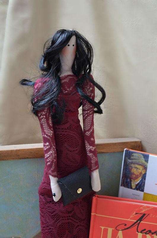 Куклы Тильды ручной работы. Ярмарка Мастеров - ручная работа. Купить Юлия. Handmade. Тильда, handmade, стразы