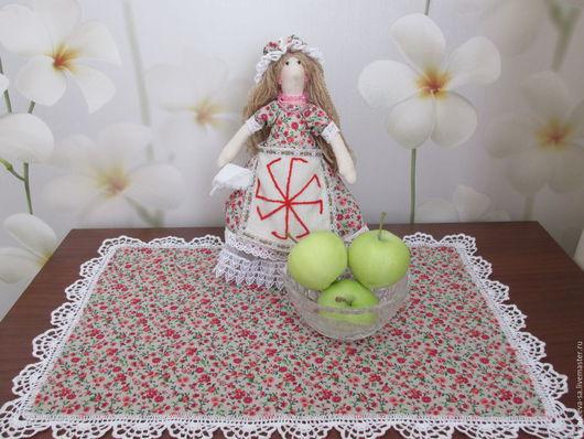 Куклы Тильды ручной работы. Ярмарка Мастеров - ручная работа. Купить кукла - оберег для женщин хозяюшка. Handmade. Комбинированный