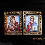 Картины и панно ручной работы. Ярмарка Мастеров - ручная работа венчальная пара. Handmade.