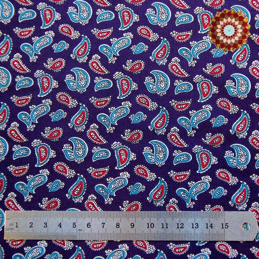 Ткань хлопок `Турецкий боб фиолетовый`. Код товара: ZT-00037