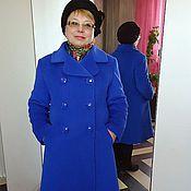 """Одежда ручной работы. Ярмарка Мастеров - ручная работа Пальто """"Ультрамарин"""". Handmade."""