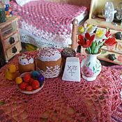Куклы и игрушки ручной работы. Ярмарка Мастеров - ручная работа Миниатюра 1:12, Пасха, набор миниатюр.. Handmade.