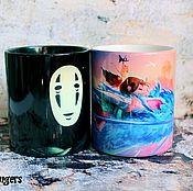Посуда handmade. Livemaster - original item Mug spirited away Hayao Miyazaki Hayao Miyazaki. Handmade.