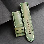 Украшения handmade. Livemaster - original item Calf leather watchband (07). Handmade.