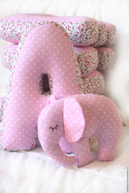 Текстиль, ковры ручной работы. Ярмарка Мастеров - ручная работа. Купить Буквы подушки. Handmade. Подушка-игрушка, буквы для интерьера