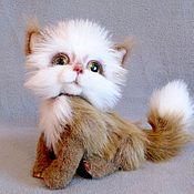 Куклы и игрушки ручной работы. Ярмарка Мастеров - ручная работа котик Руди. Handmade.
