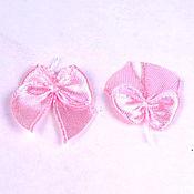 Материалы для творчества ручной работы. Ярмарка Мастеров - ручная работа Бантики розовые. Handmade.