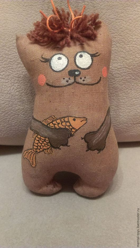 Игрушки животные, ручной работы. Ярмарка Мастеров - ручная работа. Купить Кофейные игрушки. Handmade. Текстильная игрушка, чердачная игрушка