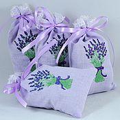 Сувениры и подарки handmade. Livemaster - original item scented sachet-pouch lavender. Handmade.