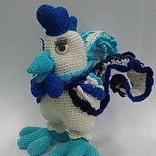 """Куклы и игрушки ручной работы. Ярмарка Мастеров - ручная работа Петух """"Гжель"""". Handmade."""