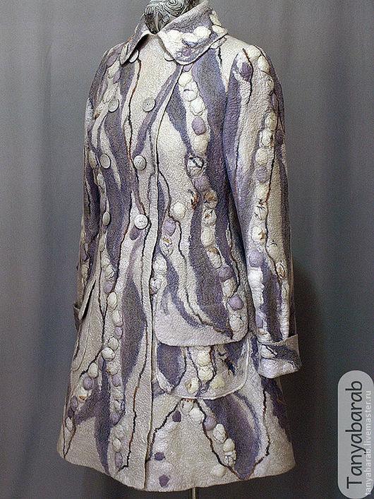 """Верхняя одежда ручной работы. Ярмарка Мастеров - ручная работа. Купить Пальто """"Легкое настроение"""". Handmade. Пальто ручной работы"""