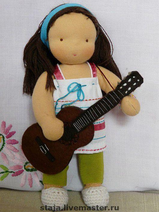 Вальдорфская игрушка ручной работы. Ярмарка Мастеров - ручная работа. Купить Портретная куколка для Аниты. Handmade. 100% шерсть овечья