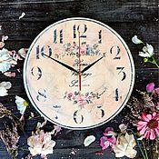 """Для дома и интерьера ручной работы. Ярмарка Мастеров - ручная работа Часы """"Романс"""". Handmade."""