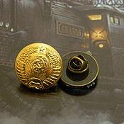 Украшения handmade. Livemaster - original item Badges (brooches) with symbols of the Soviet era