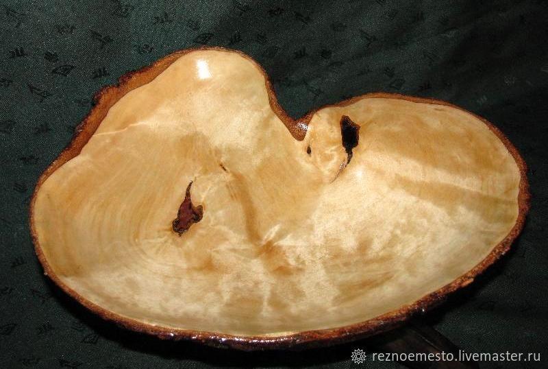 Ваза деревянная, Ваза из дерева, Ваза деревянная ручной работы