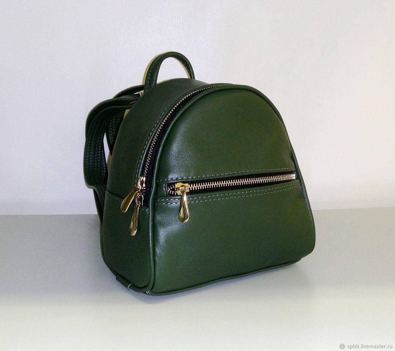 Backpack leather ' Baby', Backpacks, St. Petersburg,  Фото №1