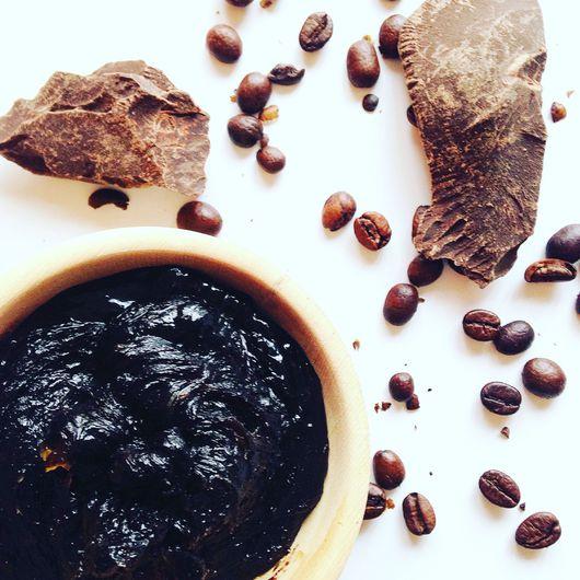 """Мыло ручной работы. Ярмарка Мастеров - ручная работа. Купить Мягкое мыло-бельди """"Берег Слоновой Кости"""" с какао и кофе. Handmade."""