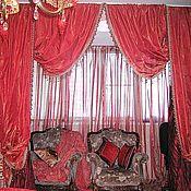 Для дома и интерьера handmade. Livemaster - original item Curtains Classic. Handmade.