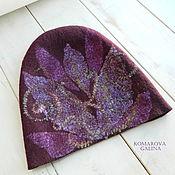 Аксессуары handmade. Livemaster - original item hat felted feminine
