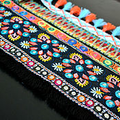 Материалы для творчества handmade. Livemaster - original item In stock! Original embroidered braid, Summer in colors. Handmade.