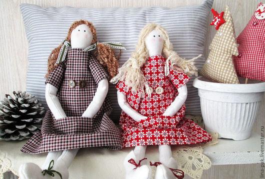 Куклы Тильды ручной работы. Ярмарка Мастеров - ручная работа. Купить кукла-подружка. Handmade. Белый, милая игрушка