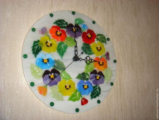 """Часы для дома ручной работы. Ярмарка Мастеров - ручная работа. Купить Часы """" Весна идет, весне дорогу"""". Handmade."""