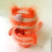 """Куклы и игрушки ручной работы. Ярмарка Мастеров - ручная работа Кот Рыжий """"Полосатик"""" (Вязаные игрушки / коты/ амигаруми / пушистики ). Handmade."""