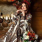 handmade. Livemaster - original item Dress shawls, prom dress long floor