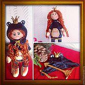 Куклы и игрушки ручной работы. Ярмарка Мастеров - ручная работа Царевна-лягушка. Handmade.