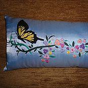 """Сувениры и подарки ручной работы. Ярмарка Мастеров - ручная работа подушка """" Весенняя"""". Handmade."""