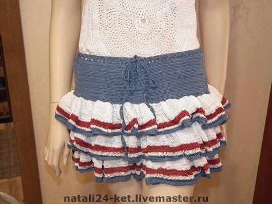 Юбки ручной работы. Ярмарка Мастеров - ручная работа. Купить юбка Кокетка. Handmade. 100% хлопок, авторская ручная работа