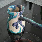 Посуда ручной работы. Ярмарка Мастеров - ручная работа Авторская турка ручной работы. Handmade.